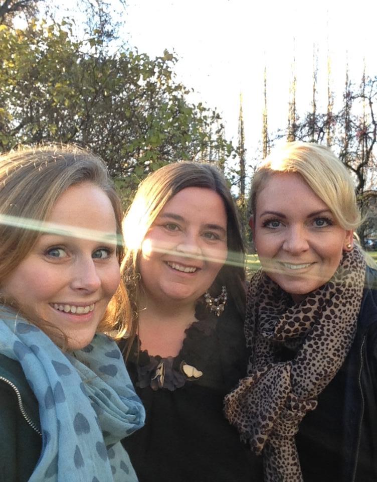 To bransjekollegaer jeg setter stor pris på, Ingvild i Resonate.no og Cecilie i CecilieTS.no - disse damene inspirerer!