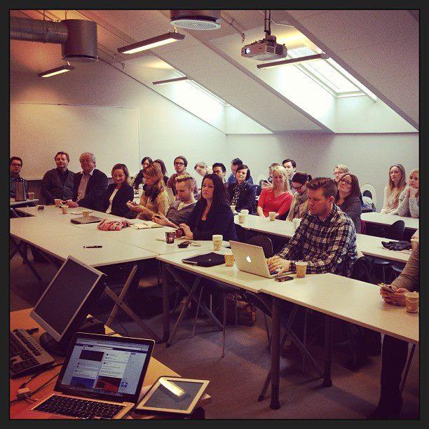 Foredrag for Social Media Days - workshop