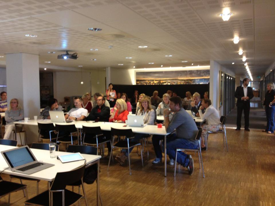 Workshop med blogging som tema